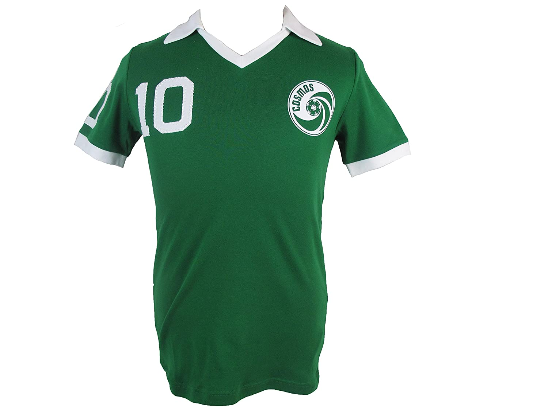 online store c69ee c2810 Umbro New York Cosmos 1977 Pele #10 green away shirt retro football jersey