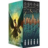 Box Percy Jackson e os olimpianos - capa nova: (Série Percy Jackson e os olimpianos)