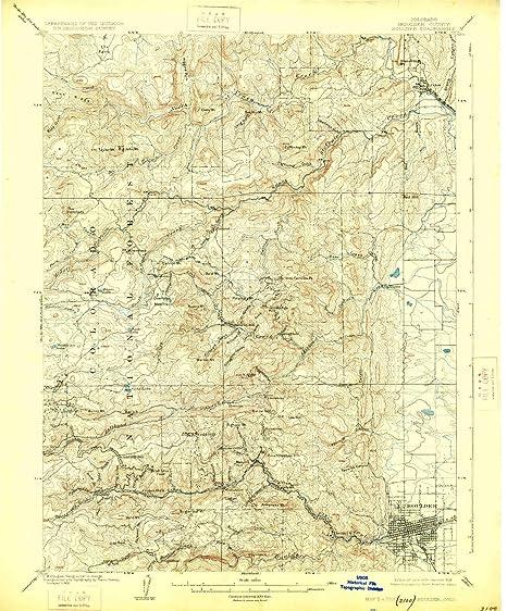 Amazon Com Yellowmaps Boulder Co Topo Map 1 62500 Scale 15 X 15