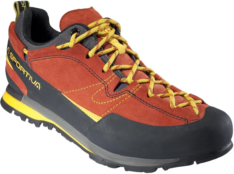 La Sportiva Boulder X, Zapatillas de Senderismo para Hombre 44 EU|Rojo (Rojo 000)