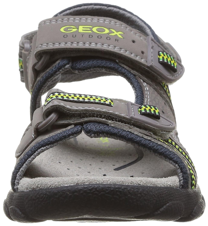 Geox Jr Sandal Strada A Sandalias para Ni/ños