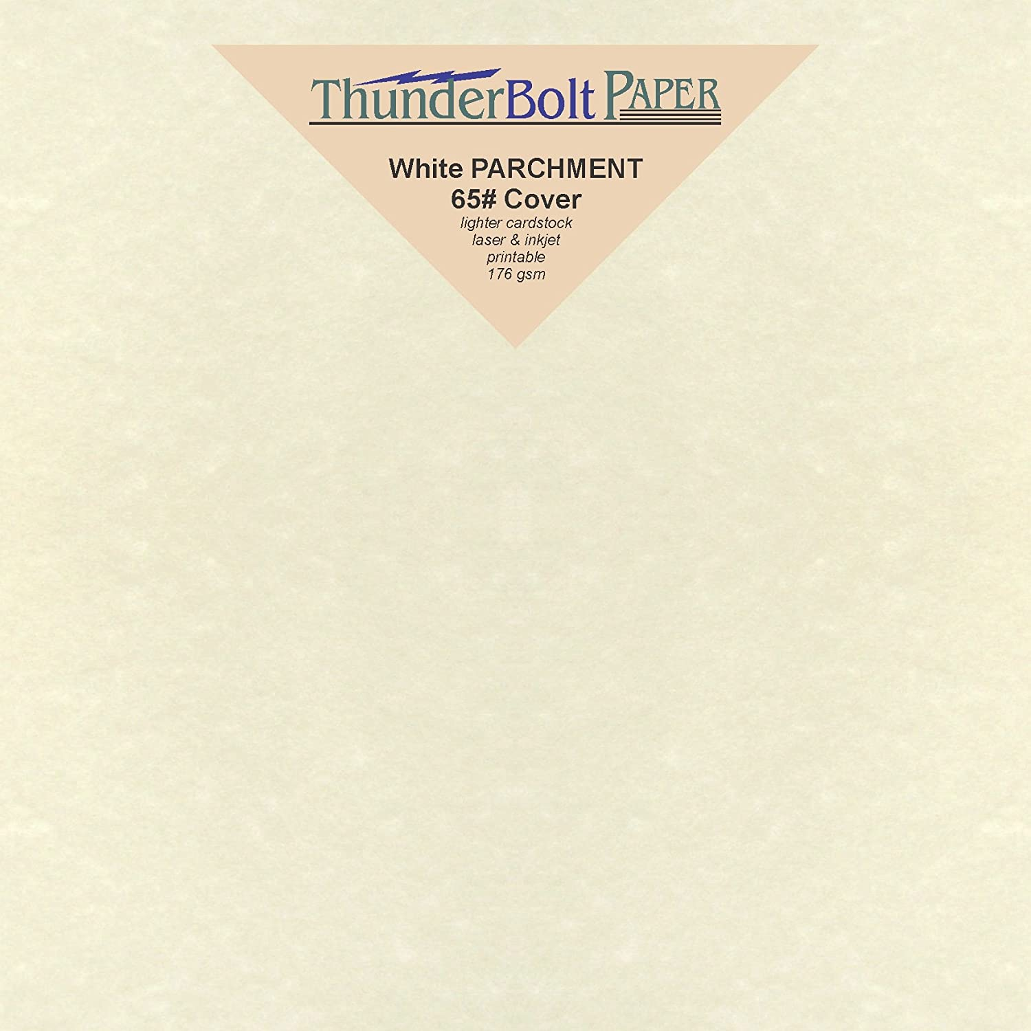 150 White Parchment 65lb Cover Weight Paper - 6 X 6 (6X6 Inches) Square Scrapbook Album Size - Printable Cardstock Colored Sheets Old Parchment Semblance TBP