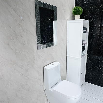 Astounding Shower Wall Panels Grey Pvc Bathroom Cladding Wall Panels Home Interior And Landscaping Ymoonbapapsignezvosmurscom