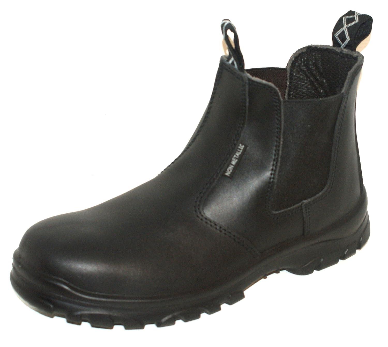 Airsafe Lightweight Safety Work Dealer Boot Black Composite Toe S1P BNIB AS-C7
