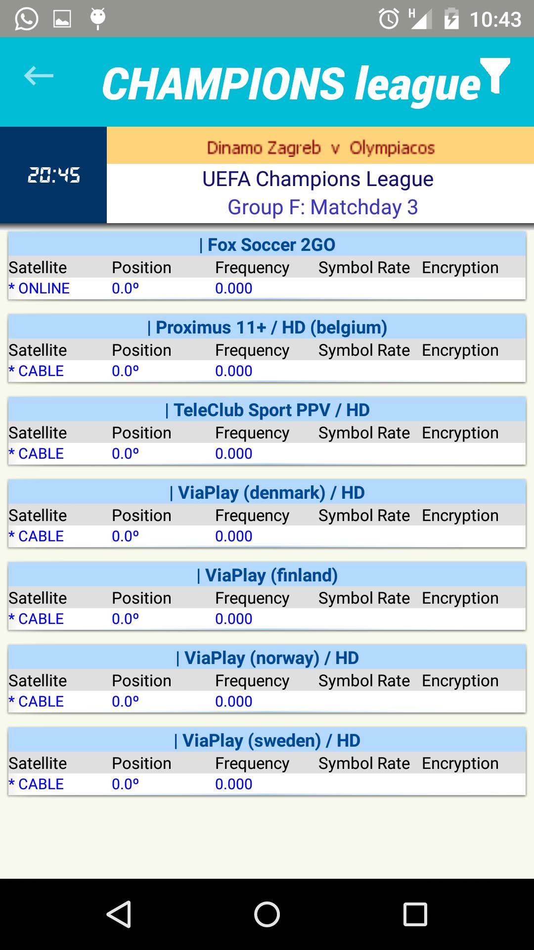 Sport Live Sat: Amazon.es: Appstore para Android