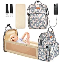 YOOFOSS Diaper Bag Backpack, Baby Nappy Changing Bags Multifunction Travel Back Pack with Changing Pad & Stroller Straps…