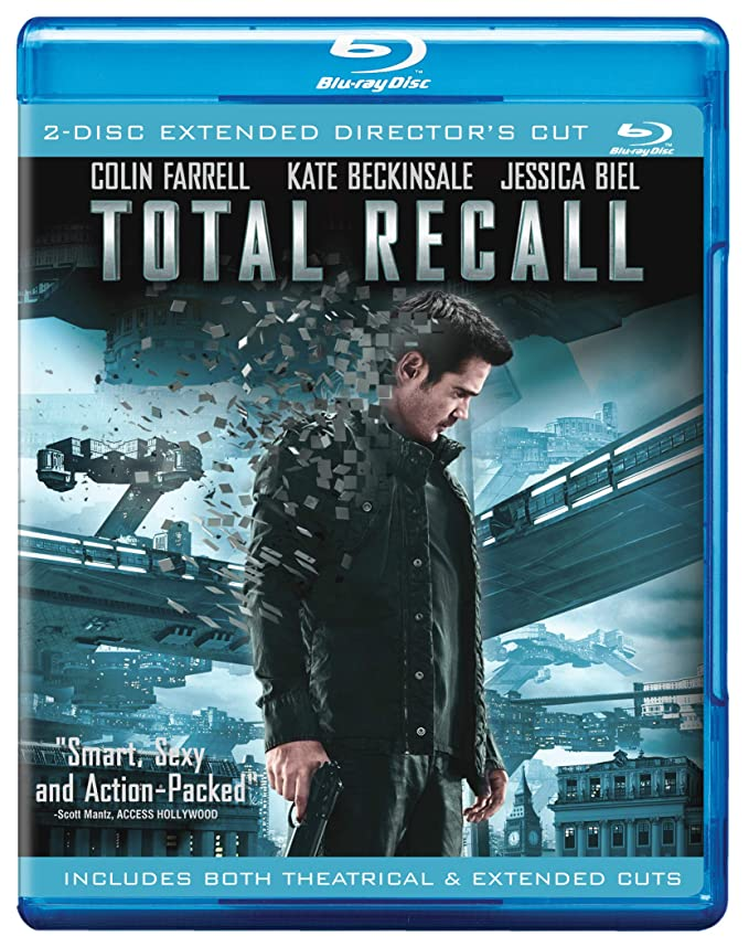 Film Fantasy Colin Farrell Picture Framed Print Total Recall Movie Poster