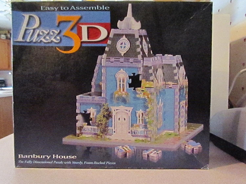 Puzz 3D 10 Hill Road Puzzle, Banbury House (259 Pieces)
