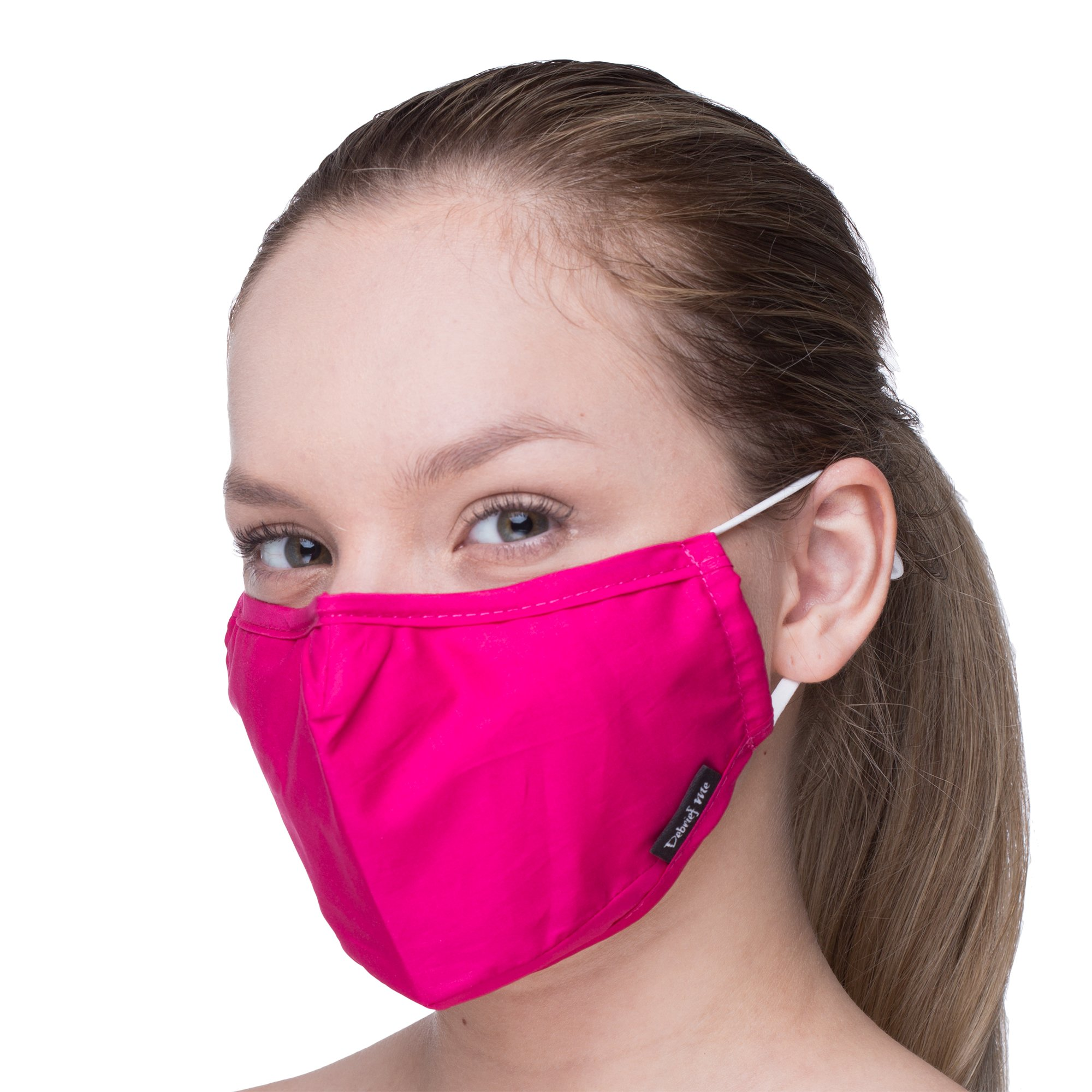 Anti Dust Face Mouth Cover Mask Respirator - Dustproof Anti-bacterial Washable - Reusable masks Respirator Comfy - Cotton Germ Protective Breath Healthy Safety Warm Windproof Mask (Power Pink)