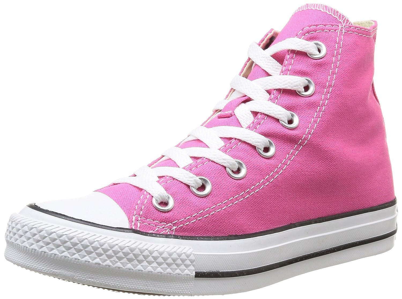 Converse Unisex-Erwachsene Chuck Taylor All Star-Hi High-Top, Schwarz  37 EU|Pink (Pink)
