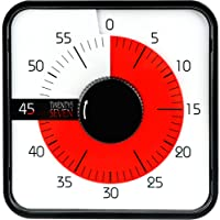 Countdown Timer 7.5 inch; 60 Minute 1 Hour Visual Timer - Classroom Teaching Tool Office Meeting, Mechanical Countdown…