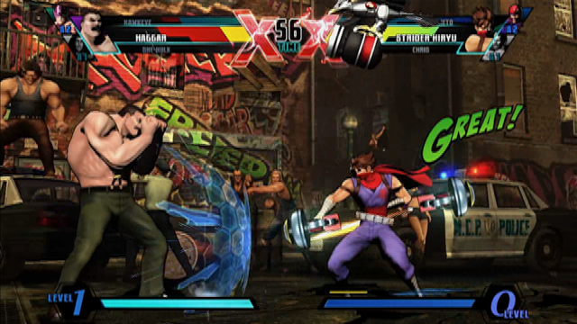 Ultimate Marvel vs. Capcom 3 - Hawkeye Gameplay