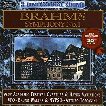 Brahms: Sym 1