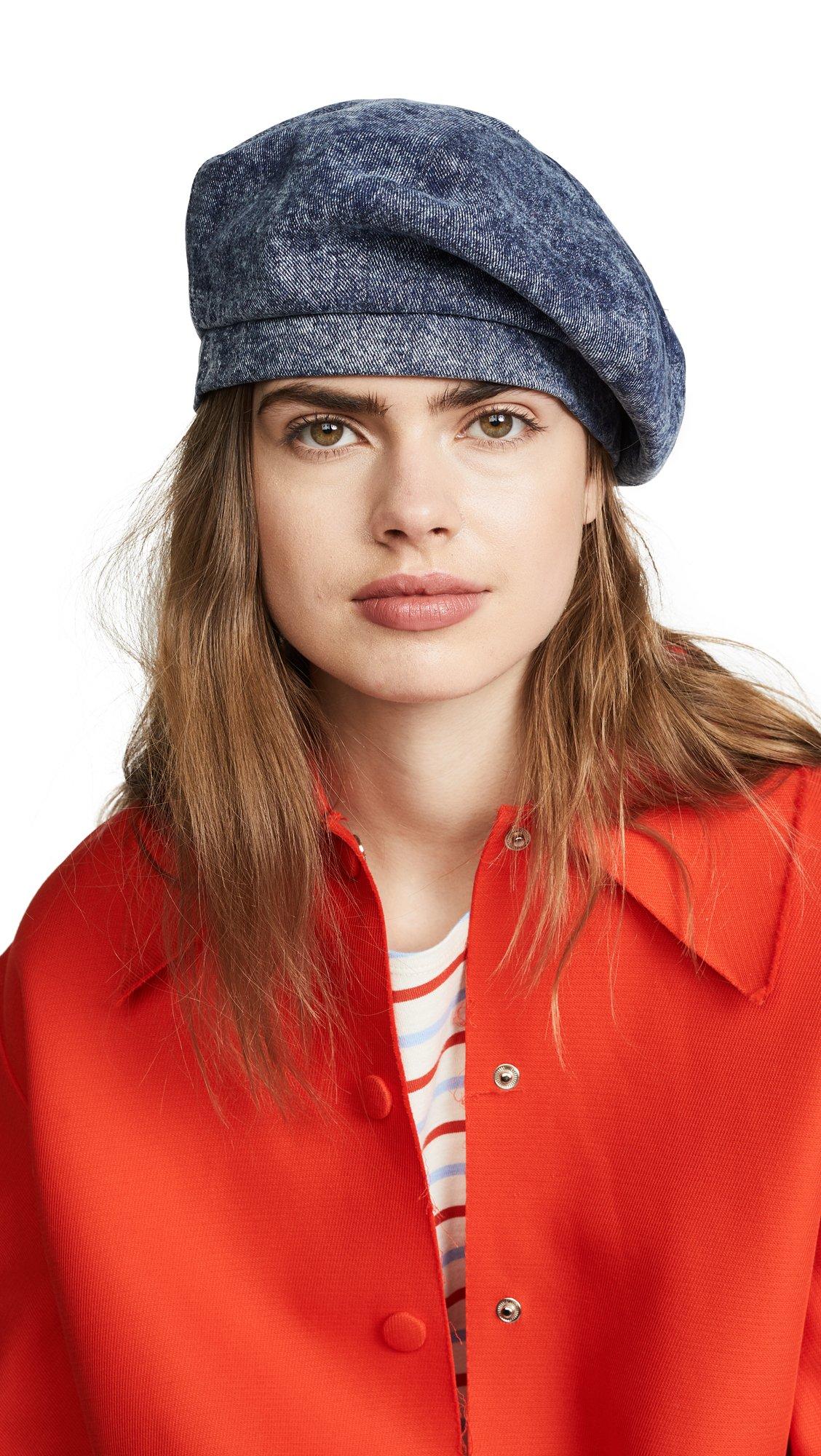Eugenia Kim Women's Chloe Hat, Denim, One Size