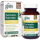 Gaia Herbs - Turmeric Supreme Extra Strength - 60 Vegetarian Capsules (60)