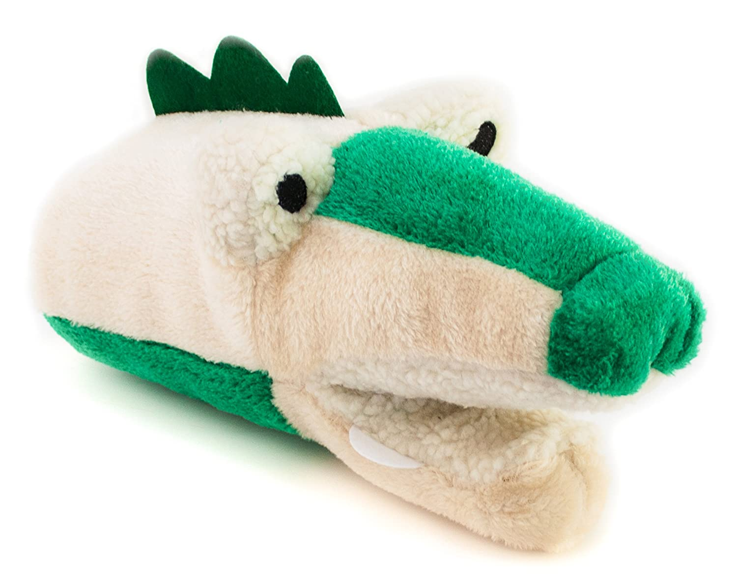 Bis Dog Allie the Alligator Hand Puppet