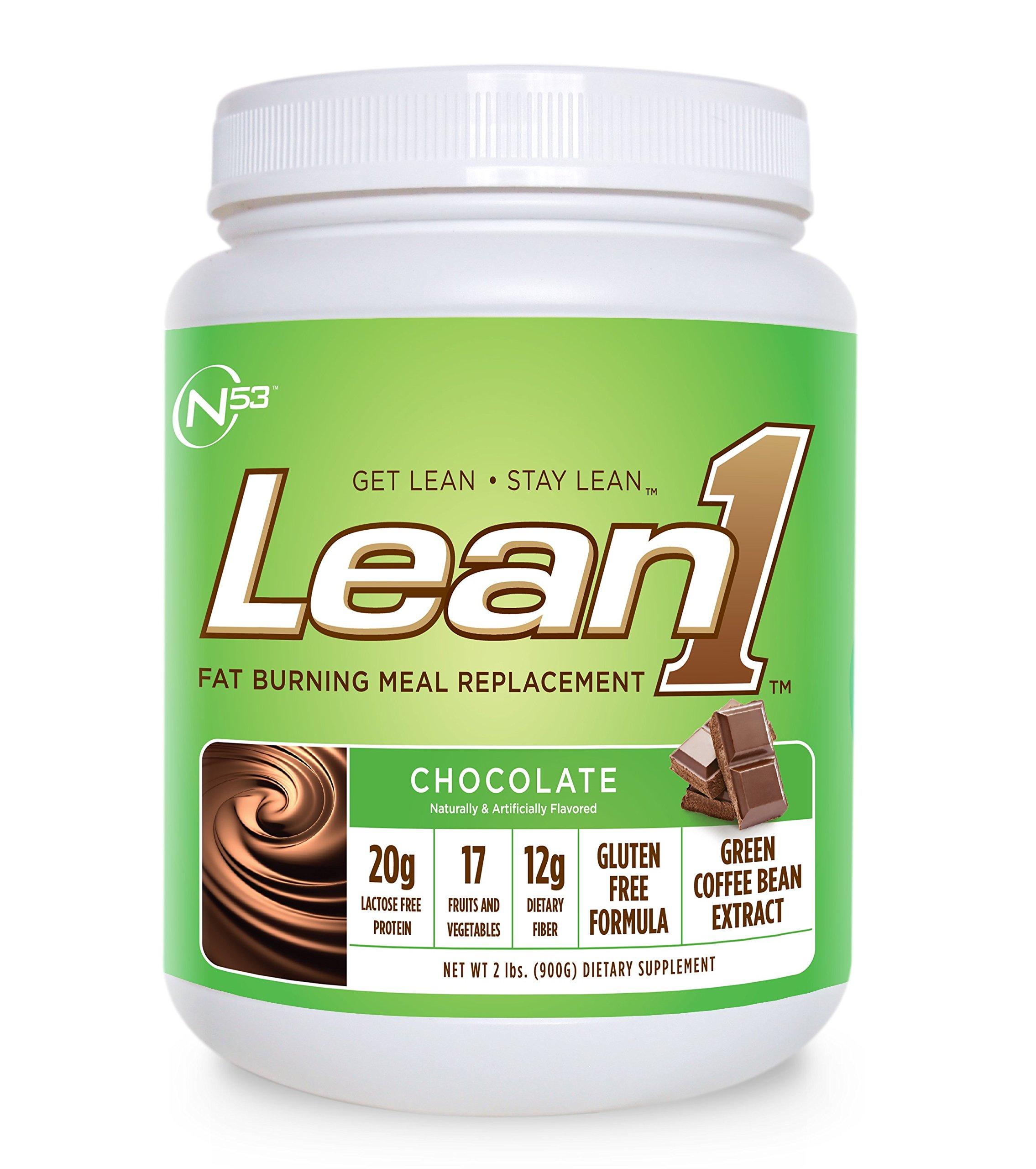 Nutrition 53 Lean1 Chocolate, 15 Serving Tub, 1.98 lbs. by Lean1