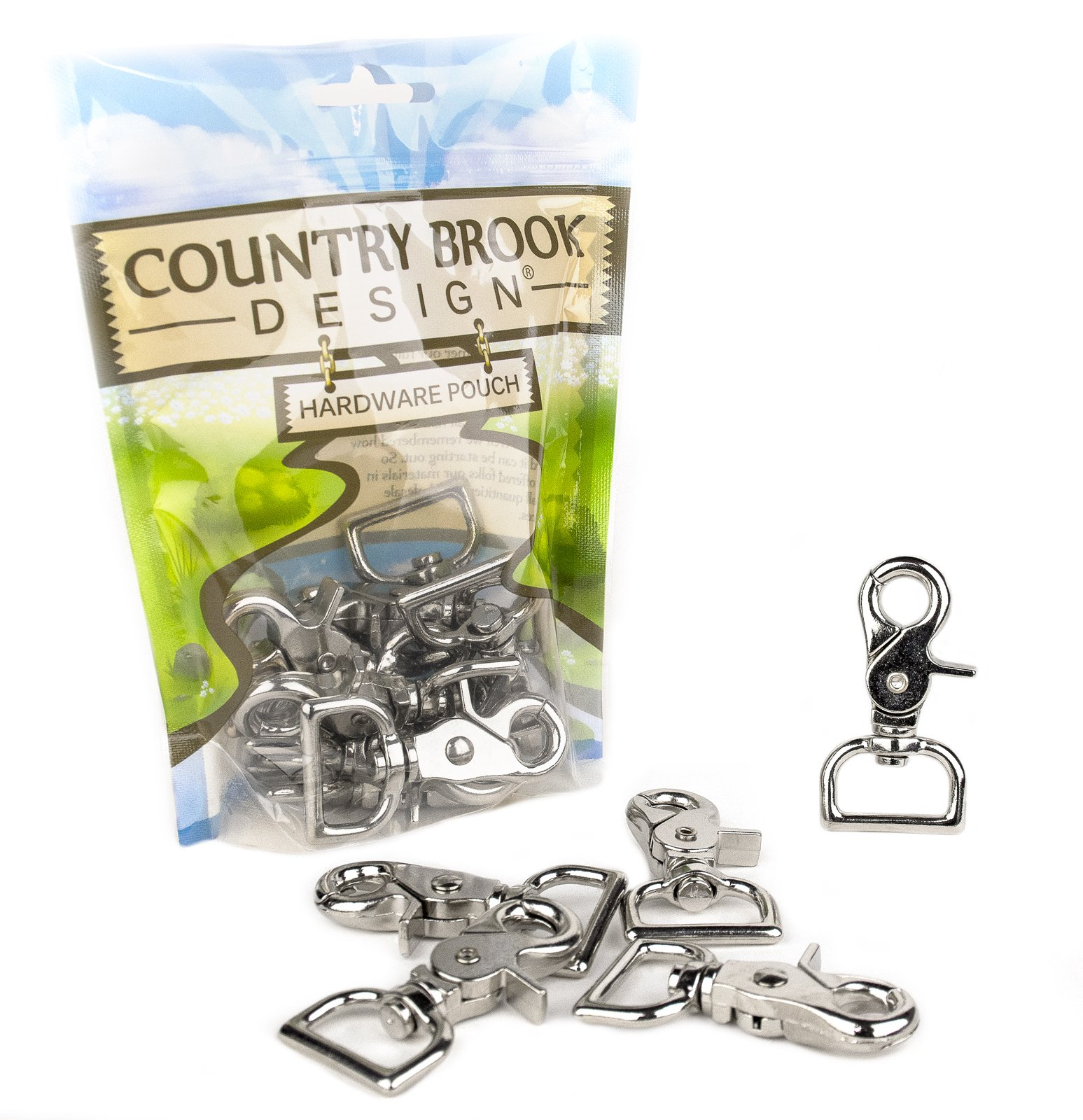 50 - Country Brook Design | 1 Inch Trigger Swivel Snap Hooks by Country Brook Design