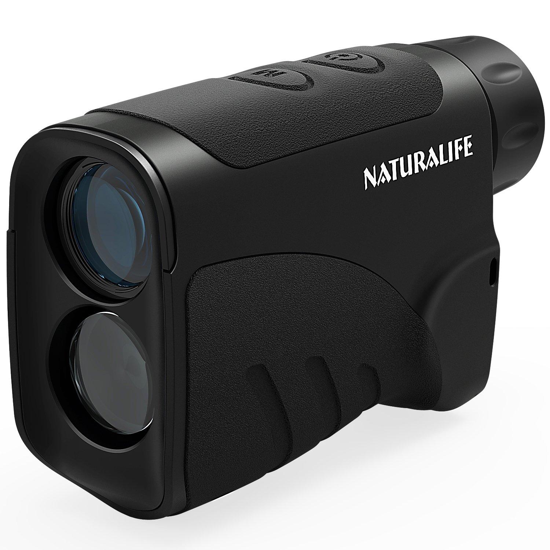 Naturalife Laser Rangefinder, Multifunctional Vertical Range Finder for Golf, Hunting, Outdoor Activities, 656 Yard Range