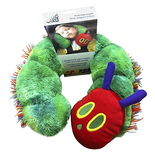Eric Carle Kid's Neck Pillow, Children's Neck Support Pillow