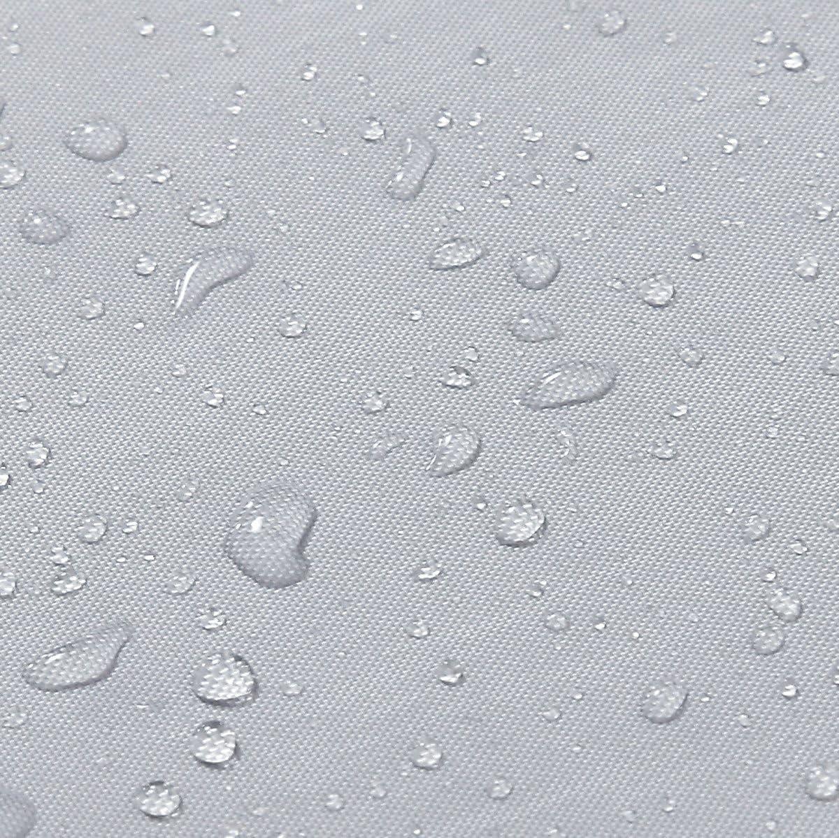 Cuarto de ba/ño Impermeable Cortina de Ducha impermeable P/úrpura 120x200