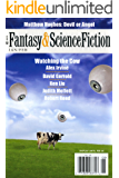 The Magazine of Fantasy & Science Fiction January/February 2013 (The Magazine of Fantasy & Science Fiction Book 124)