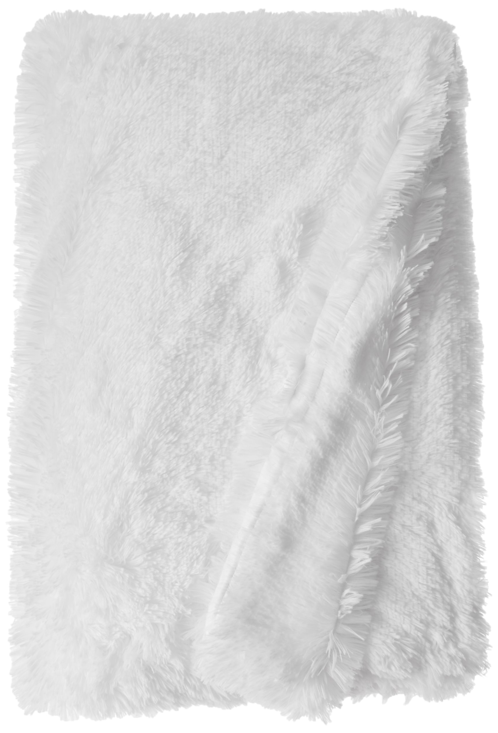 BESSIE AND BARNIE Pet Blanket, X-Large, Snow White/Snow White without Ruffle