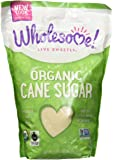 Wholesome Sweeteners, Organic Sugar, Cane, 2 lb