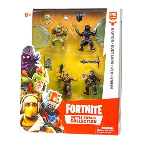 Amazon Com Fortnite Battle Royale Collection Squad Pack Toys Games