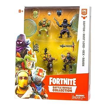 Amazon Com Fortnite Battle Royale Collection 4 Action Figure Squad