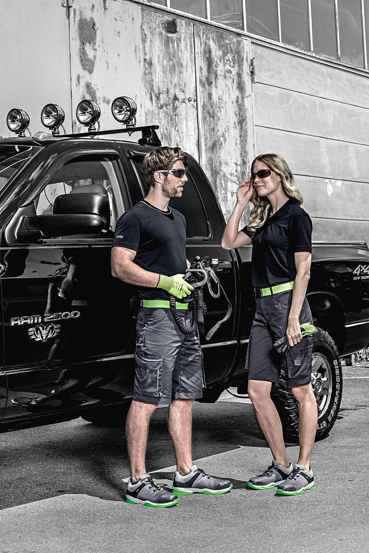 geruchshemmenden Lyocellgewebe//Tencel schwarz Gr Uvex 8915 sportliches T-Shirt aus leichten M