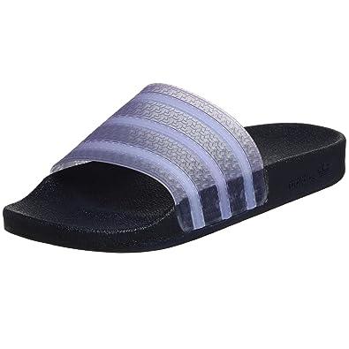 719219cd1 Adidas Originals Men's Adilette Sandal, Navy/White/Navy, 4 M: Buy ...