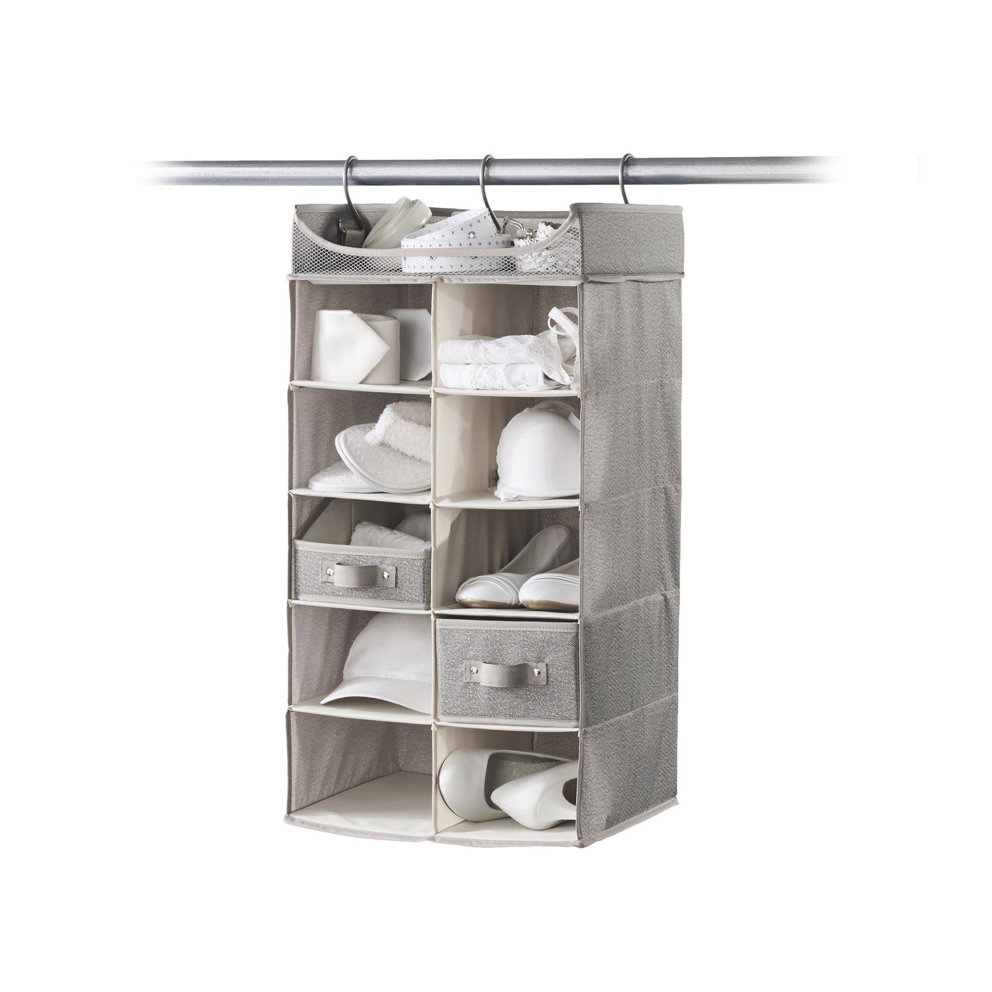 neatfreak Harmony Twill 2X5 Shelf Closet Organizer by Closet Spice (Image #3)