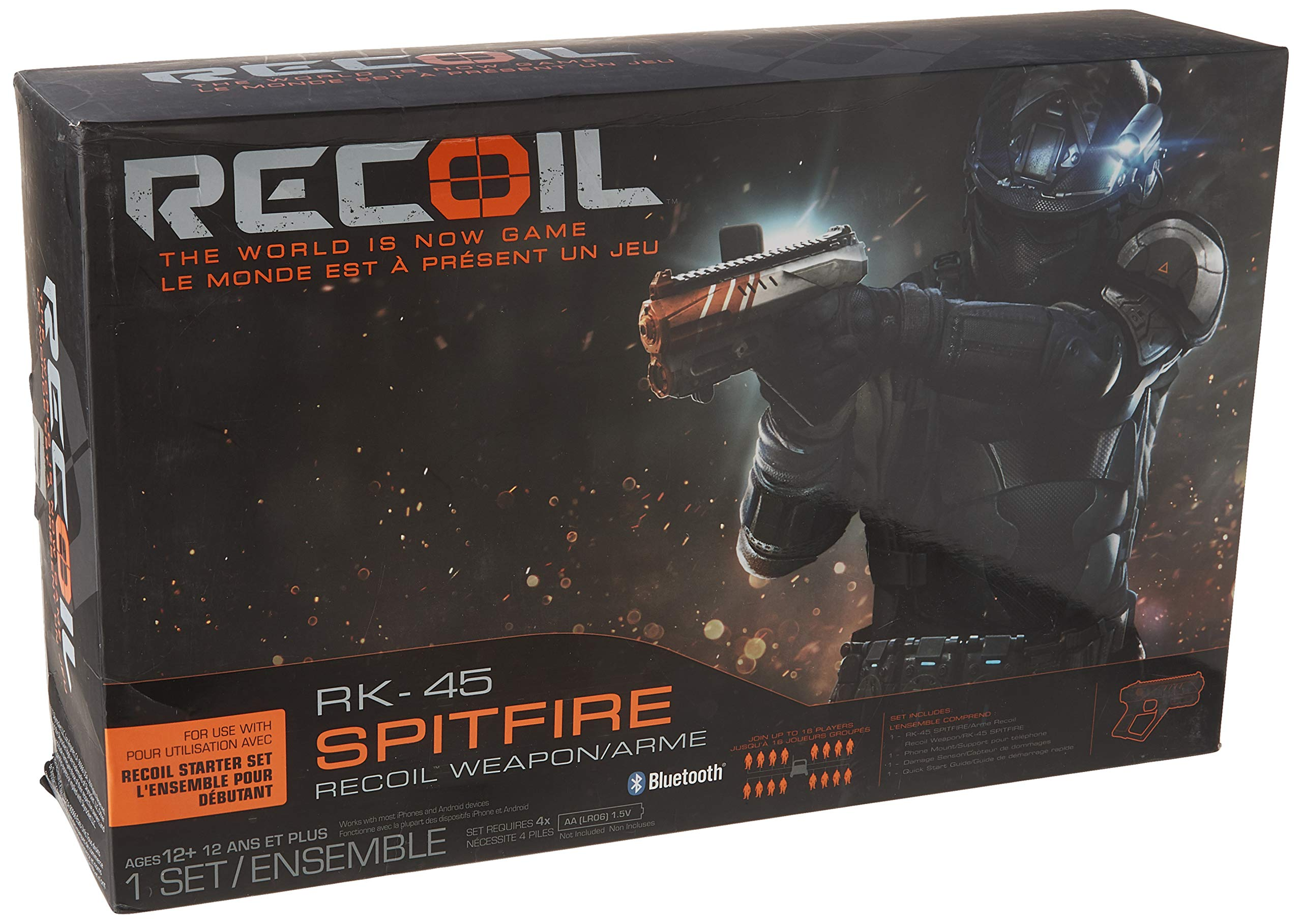 Recoil Laser Combat - RK-45 Spitfire 2-Pack (Amazon Exclusive)