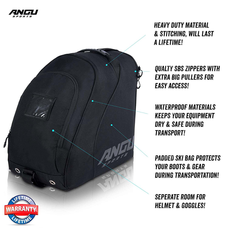 38c637070c Amazon.com   ANGU SPORTS Ski Boot Bag