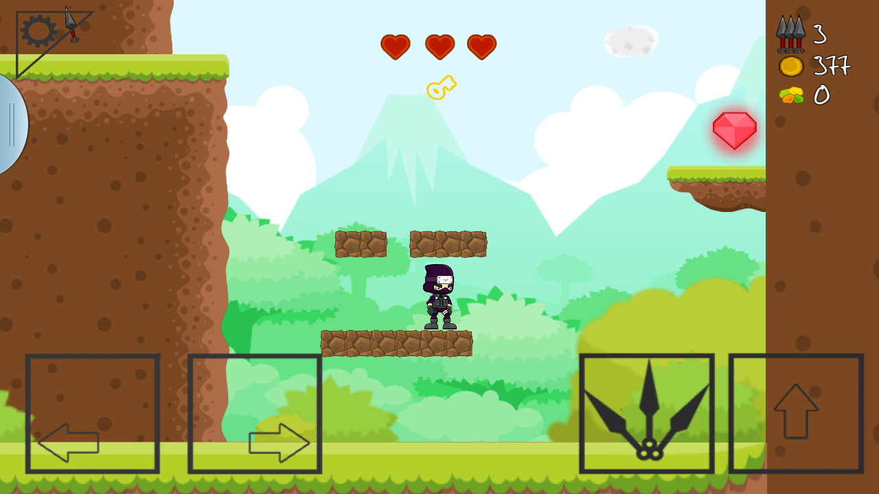 Amazon.com: NINJA SIDE 2D : Platform Game: Appstore for