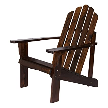 Brilliant Shine Company Inc 4618Bb Marina Adirondack Chair Burnt Brown Uwap Interior Chair Design Uwaporg