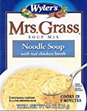 MRS GRASS MIX SOUP CHICKEN NOODLE, 4.2 OZ, 2 PACK