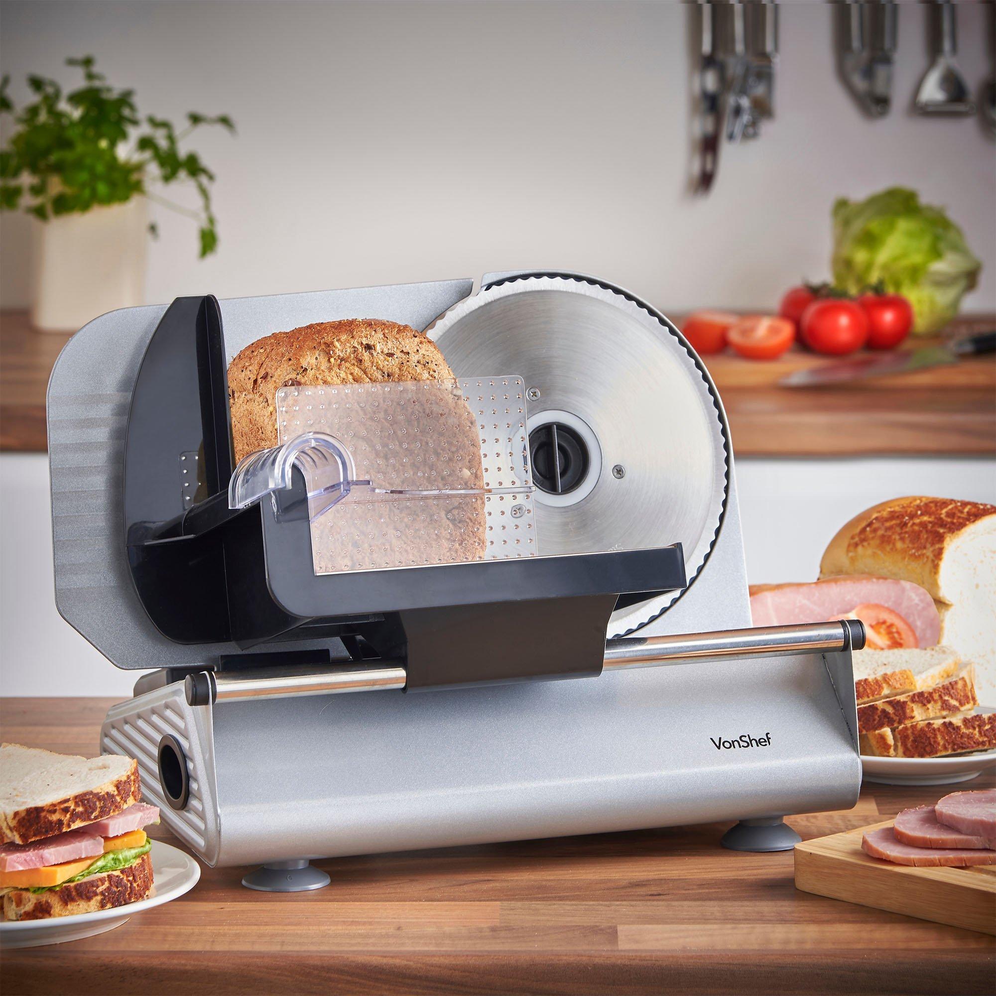 Galleon vonshef precision electric food slicer deli meat for Kitchen set toys r us philippines