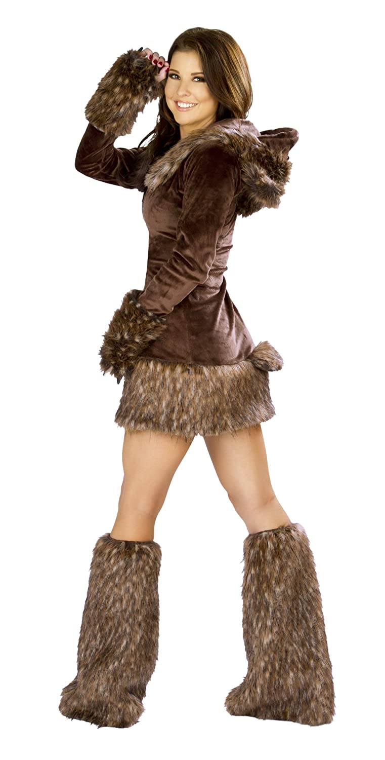 Amazon.com J. Valentine Womenu0027s Teddy Bear Costume Zipper-Front with Attached Hood Brown Small Clothing  sc 1 st  Amazon.com & Amazon.com: J. Valentine Womenu0027s Teddy Bear Costume Zipper-Front ...