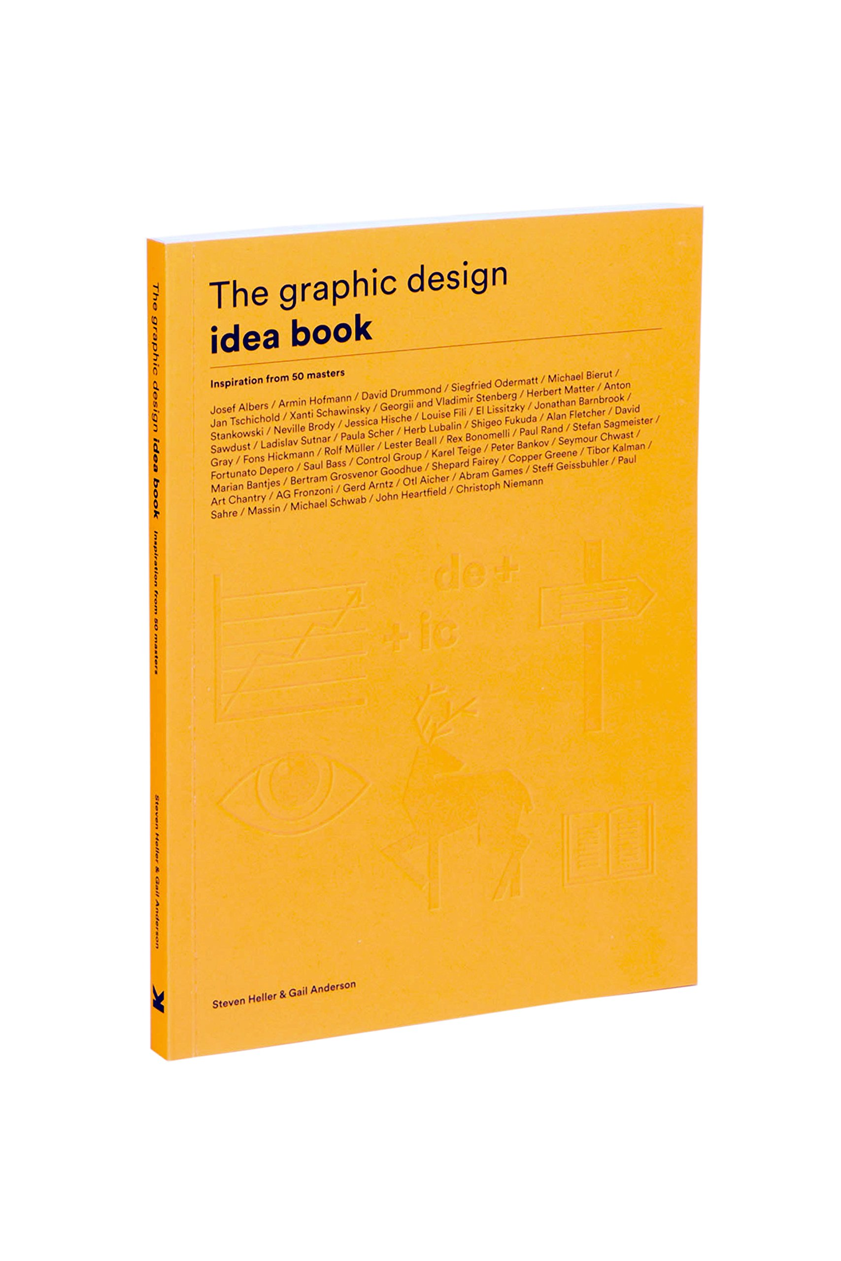 Stevenphan s ideas an ideabook by stevenphan - The Graphic Design Idea Book Inspiration From 50 Masters Steven Heller Gail Anderson 9781780677569 Amazon Com Books
