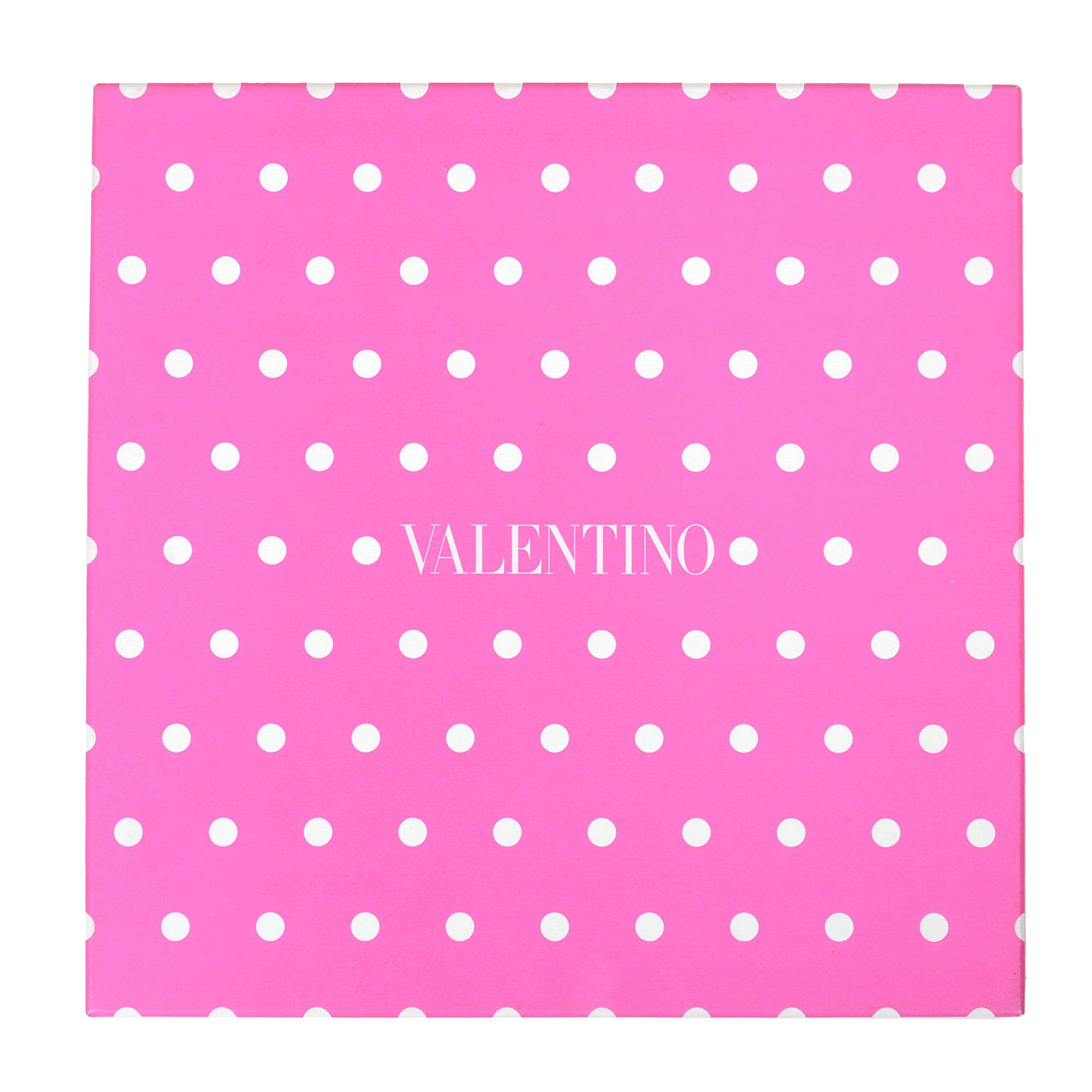 Valentino 100% Silk Multi-Color Polka Dot Women's Shawl Scarf