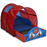 Marvel Spider-Man Sleep and Play Toddler Bed with Tent by Delta Children