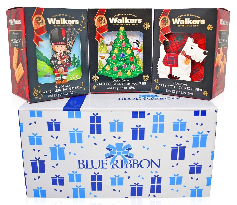 Amazon Walkers Shortbread Gift Basket 3 COUNT 5 3 oz each