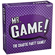 Golden Bell Games Mr Chaotic Party Game 6 Count Board