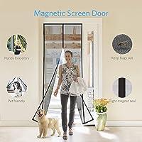 Deals on Tdbest Magnetic 36-inchx83-inch Screen Door
