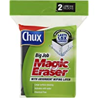 Chux Magic Eraser Extra Thick Cleaning Pad, 2 count