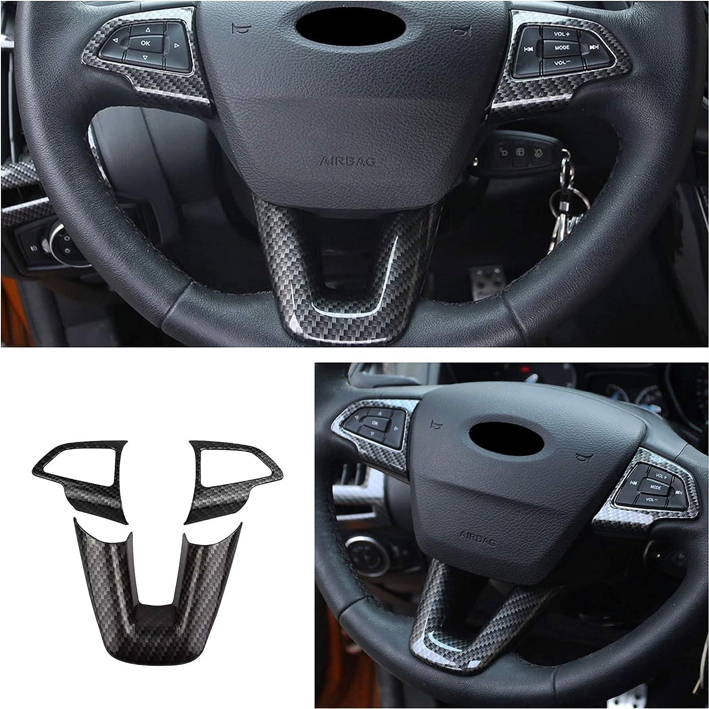 Ffz Parts 5319 Lenkrad Rahmen Carbon Optik Passend Für Ford Focus 3 4 C Max Kuga Escape Auto