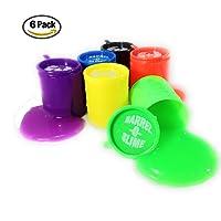 Barril de Slime Paquete de 6 Colores Diferentes, moco de Gorila, Juguete de Slime Unisex