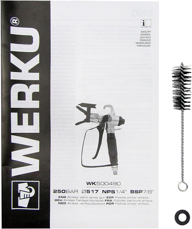 werku wk500490/pistola verniciatura airless